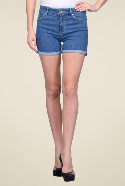 United Colors of Benetton Blue Shorts