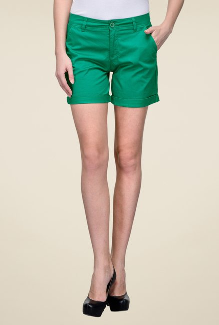 United Colors of Benetton Green Shorts