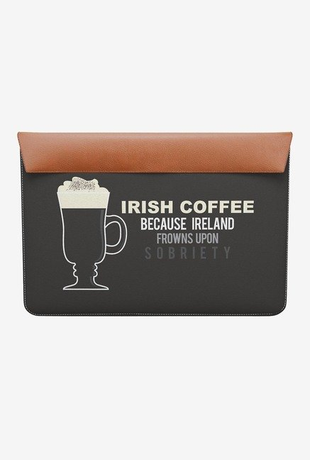 "DailyObjects Irish Coffee MacBook Air 13"" Envelope Sleeve"