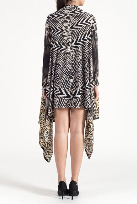 Satya Paul Black Knit Shrug