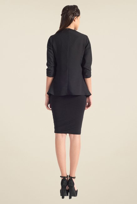 Satya Paul Black Shrug - Club SP