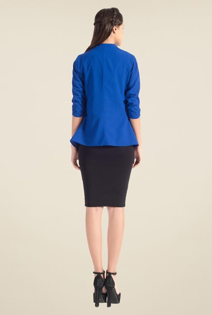 Satya Paul Blue Shrug - Club SP