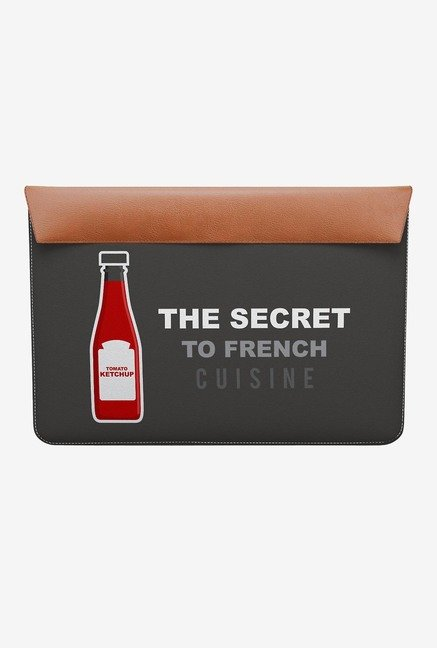 "DailyObjects Ketchup MacBook 12"" Envelope Sleeve"