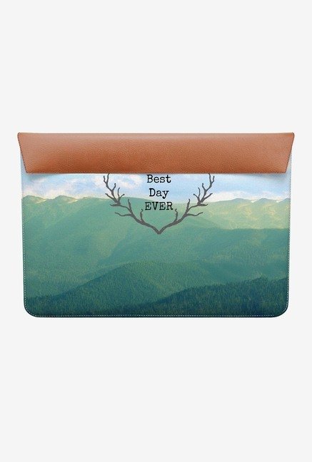 "DailyObjects Best Day Ever MacBook 12"" Envelope Sleeve"