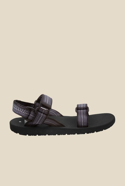 Wildcraft Classic Chess Black & Blue Floater Sandals