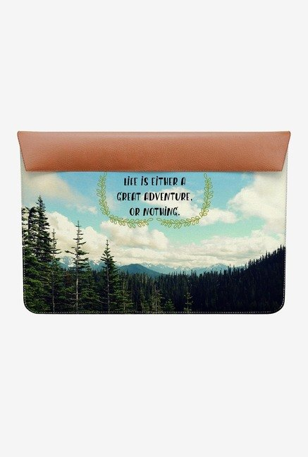 "DailyObjects Life Adventure MacBook Pro 15"" Envelope Sleeve"