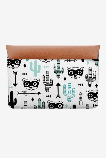 "DailyObjects Arrows and Racoons MacBook 12"" Envelope Sleeve"
