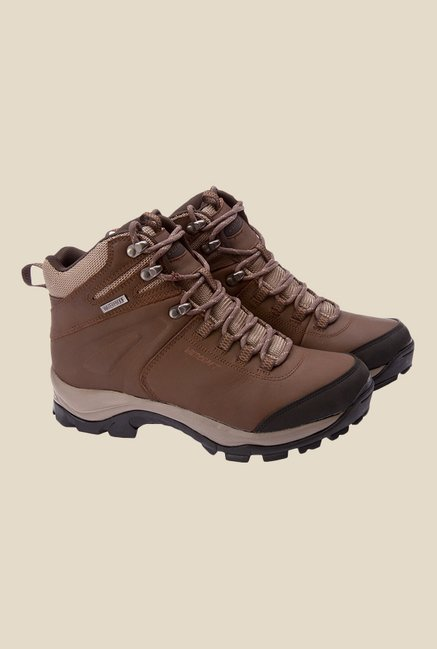 Wildcraft Brown Casual Boots