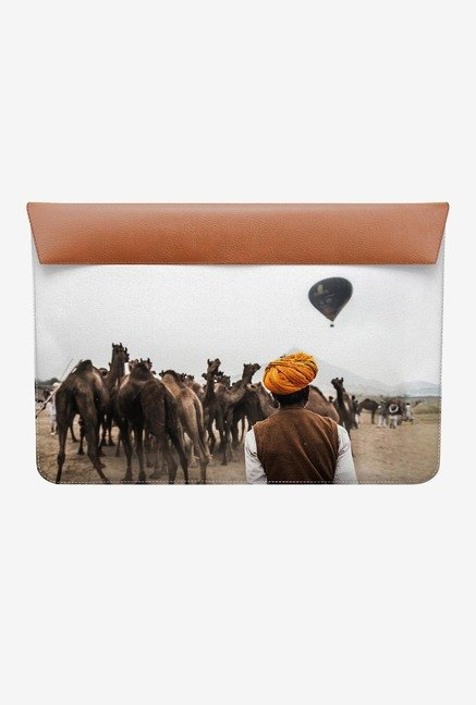 "DailyObjects Hot Air Balloon MacBook 12"" Envelope Sleeve"