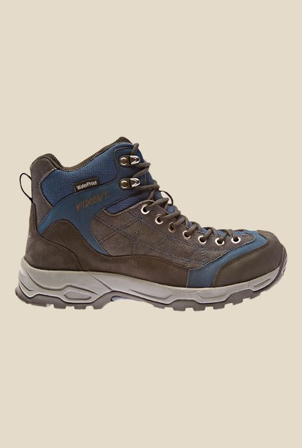 Wildcraft Brown & Navy Casual Boots