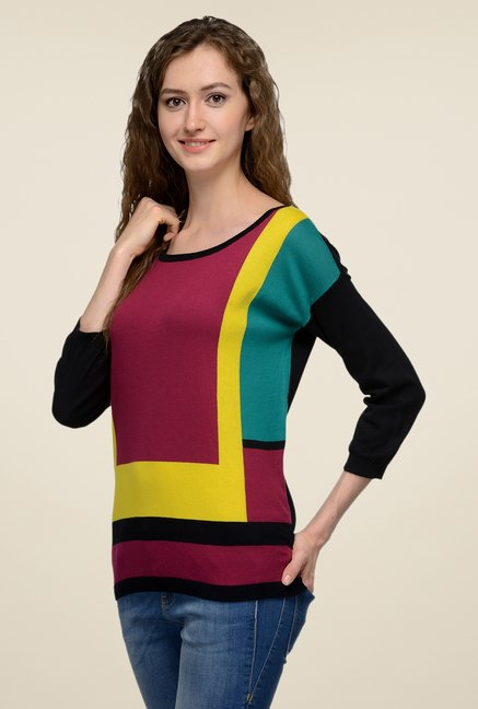 United Colors of Benetton Multicolor Solid Top