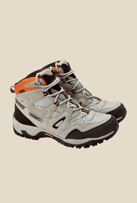 Wildcraft Beige & Grey Casual Boots