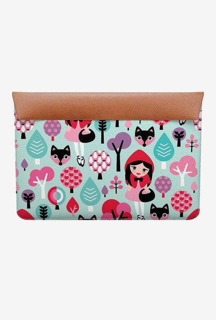 "DailyObjects Red Riding Hood MacBook 12"" Envelope Sleeve"