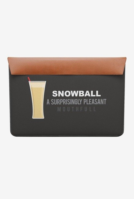 "DailyObjects Snowball MacBook Pro 15"" Envelope Sleeve"