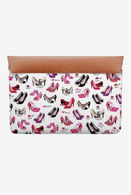 "DailyObjects Shoes MacBook 12"" Envelope Sleeve"