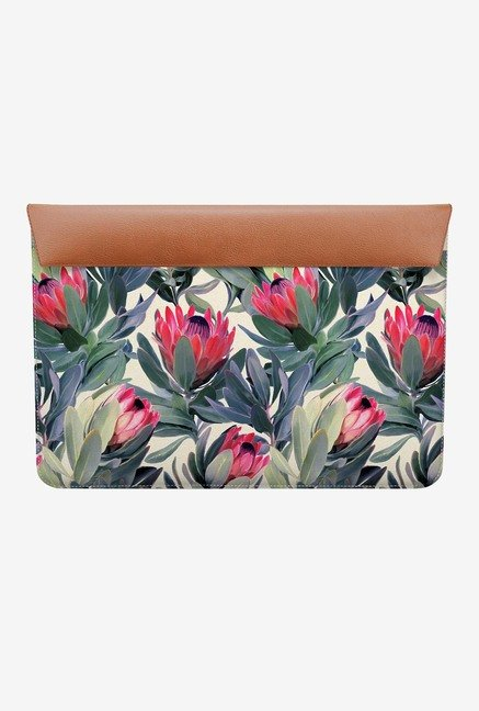"DailyObjects Painted Protea MacBook 12"" Envelope Sleeve"