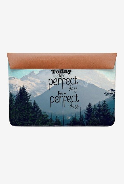 "DailyObjects A Perfect Day MacBook 12"" Envelope Sleeve"