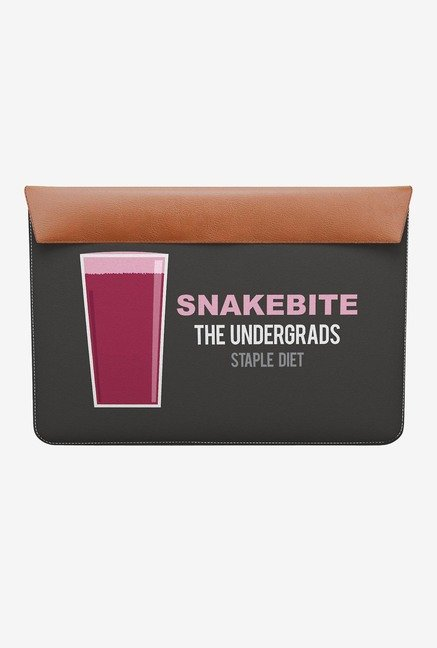 "DailyObjects Snakebite MacBook 12"" Envelope Sleeve"