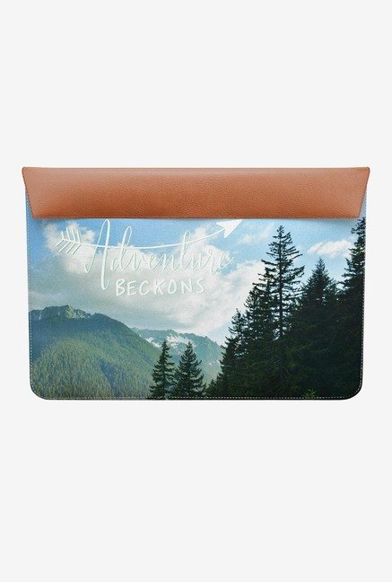 "DailyObjects Adventure Beckons MacBook 12"" Envelope Sleeve"