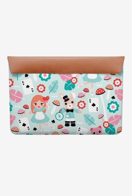 "DailyObjects Alice in Wonderland MacBook 12"" Envelope Sleeve"