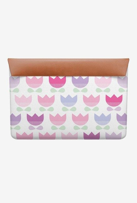 "DailyObjects Spring Tulips MacBook 12"" Envelope Sleeve"