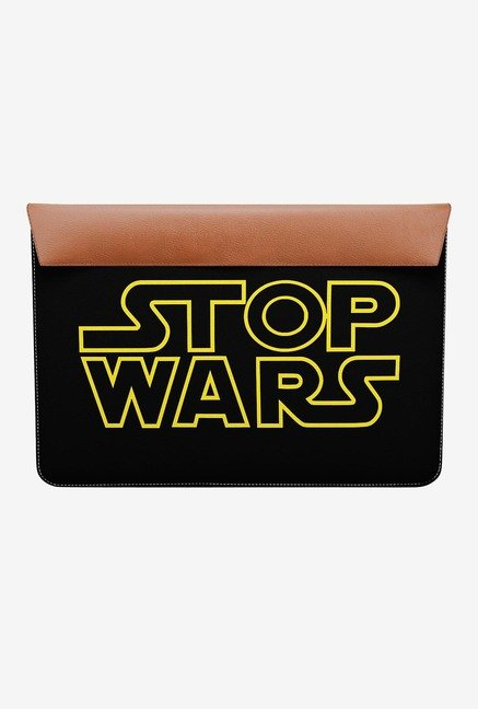 "DailyObjects Stop Wars MacBook 12"" Envelope Sleeve"