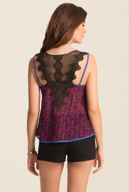 PrettySecrets Red Mist Spring Bound Cami Top