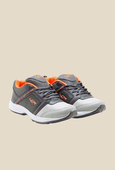 Lancer Grey & Orange Running Shoes