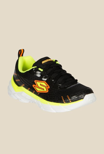 Skechers Rive Black & Green Sneakers