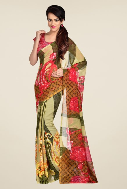 Shonaya Multicolor Printed Saree