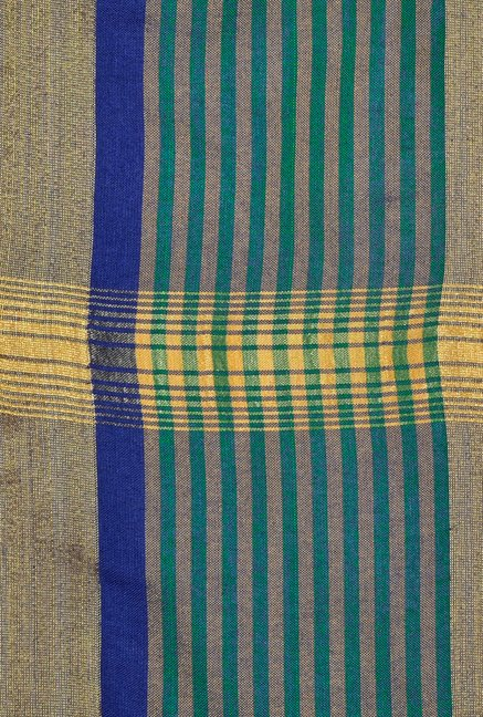 Shonaya Multicolor Banarasi Art Silk Stripes Saree