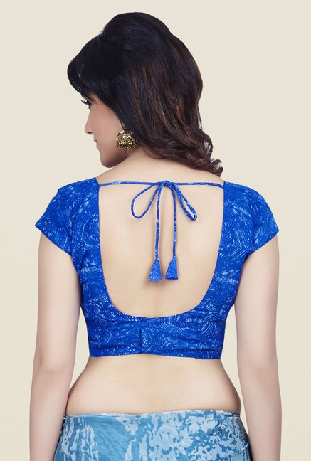Shonaya Blue Dani Georgette Saree