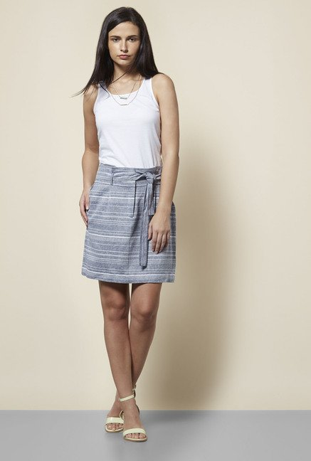 New Look Blue Skirt
