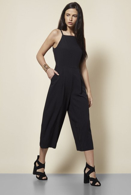 New Look Black Jumpsuit