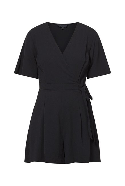 New Look Black Playsuit