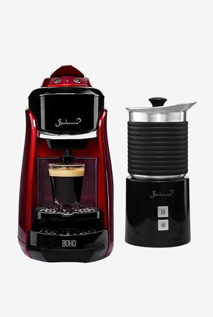 Bonhomia BB01BBF03B Boho Single Serve Coffee Maker (Red)