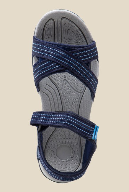 Lancer Navy Floater Sandals