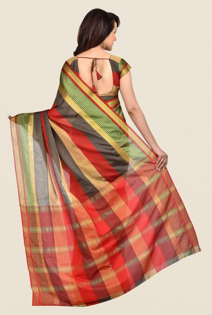 Shonaya Multicolor Banarasi Art Silk Dry Clean Saree
