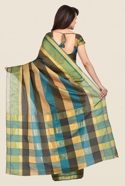 Shonaya Multicolor Banarasi Silk Saree