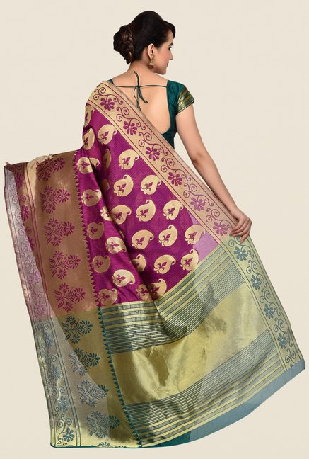 Shonaya Multicolor Banarasi Art Silk Saree