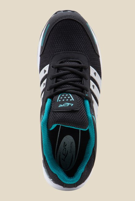 Lancer Black & Blue Running Shoes