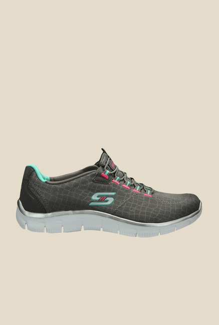Skechers Empire Rock Around Grey Running Shoes