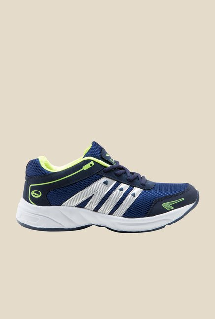 Lancer Navy & Green Running Shoes