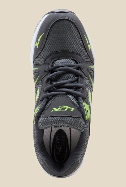 Lancer Grey & Green Running Shoes