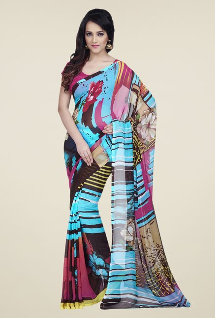Shonaya Multicolor Dry Clean Saree