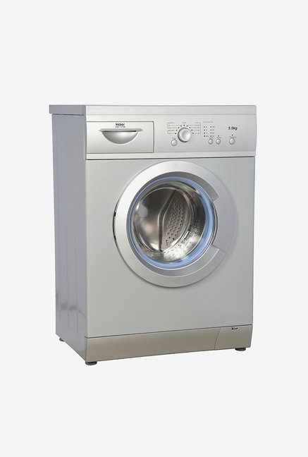Haier HW55-1010ME 5.5 Kg Front Load Washing Machine (Silver)