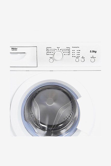 Haier HW55-1010 5.5 Kg Front Load Washing Machine (White)