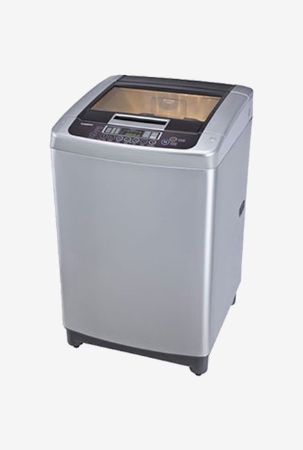 LG T7567TEELR 6.5 Kg Top Load Washing Machine (Silver)