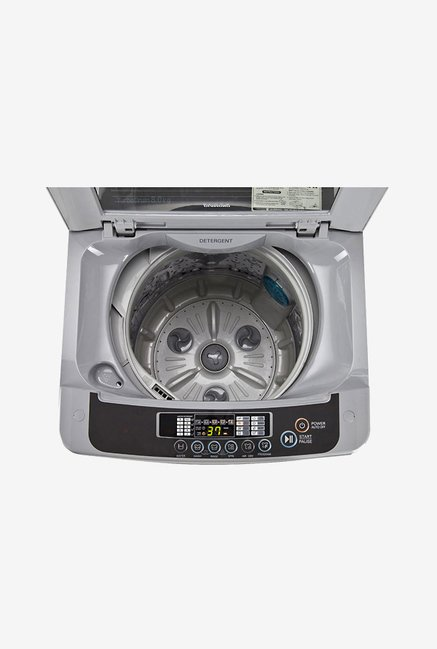 LG T8067TEELH 7 Kg Top Load Washing Machine (Free Silver)