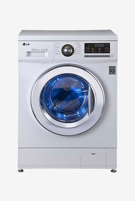 LG FH296HDL23 7 Kg Front load Washing Machine (White)